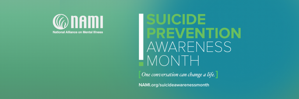 September is Suicide Prevention and Awareness Month